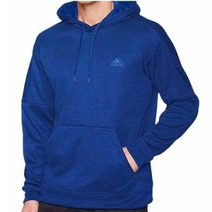 adidas | Men's Ti Flc Pullover Hoodie Royal Blue